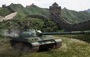 tank, China, nature, gun