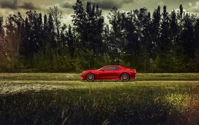 Chevrolet, природа, Camaro, дорога, минимализм, суперкар