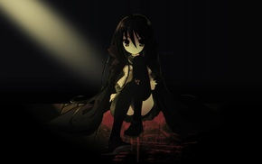 dark, anime, Shakugan no Shana, Shana