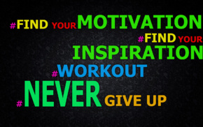 exercising, Never Give Up, motivational