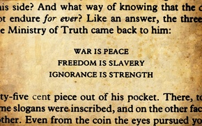1984, George Orwell, quote