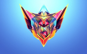 Facets, Justin Maller, abstract