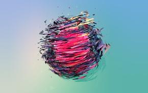 Justin Maller, абстрактные