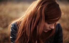веснушки, рыжие, длинные волосы