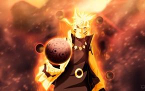 Rasengan, Bijuu, Uzumaki Naruto
