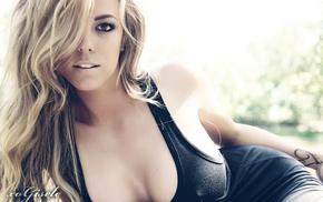 sexy, blonde, boobs, girl, girls