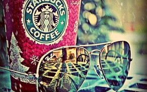 colorful, starbucks, blue