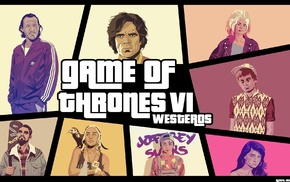 Grand Theft Auto IV, Game of Thrones, Grand Theft Auto
