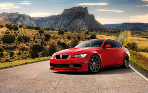 BMW, road, sportcar, cars, mountain