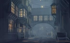 anime, night, cityscape