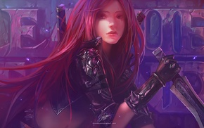 Katarina, League of Legends, Chenbo, video games