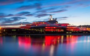 yacht, stunner