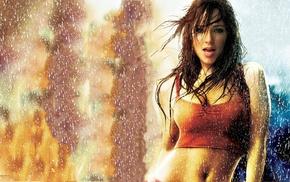 brunette, Step Up 2 The Streets, dancing, splashes, rain, wet