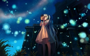 anime, landscape, anime girls, Hatsune Miku, Vocaloid