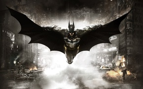 Rocksteady Studios, DC Comics, video games, Batman, Batman Arkham Knight