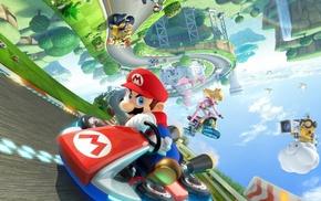 Kart, Mario Kart, bowser, wii u, Super Mario, Princess Peach