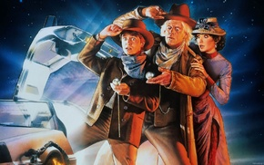 time travel, DeLorean, Back to the Future, movies