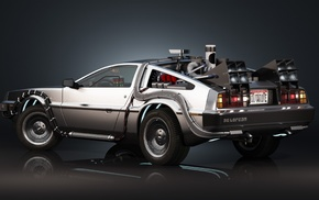 movies, DeLorean, Back to the Future, time travel