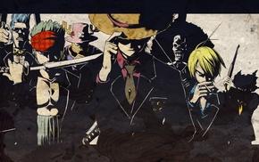 Sanji, Brook, One Piece, Roronoa Zoro, strawhat pirates, Tony Tony Chopper