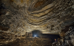 China, cave, nature