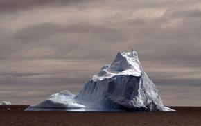 красота, Антарктида, айсберг, красивые, вода, океан