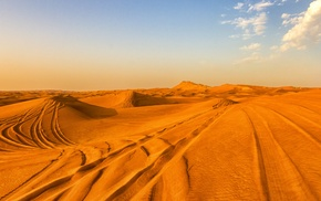 nature, landscape, desert