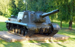 gun, tank