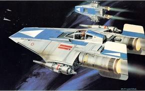 Звездные войны, научная фантастика, космический корабль