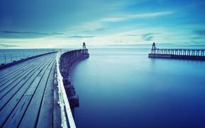 water, pier
