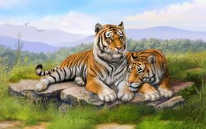 nature, stunner, beautiful, painting