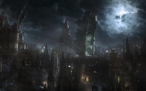 Bloodborne, moon