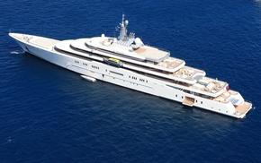 stunner, yacht, rest, ocean, sea