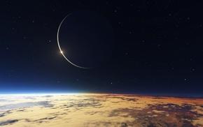 звезды, космос, планета
