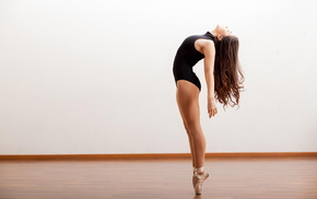ballerina, haired, sports