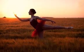 girl, ballerina