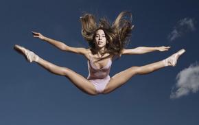 bounce, girls, girl, ballerina