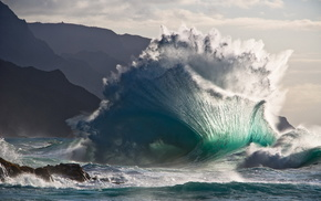 wave, element, power, ocean, stunner