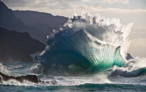 wave, element, power, ocean, stunner