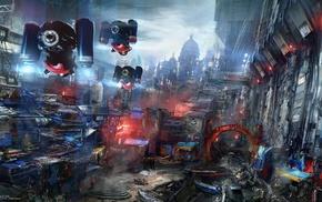 futuristic, cyberpunk