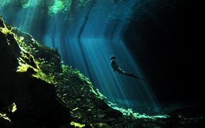 ocean, Sun, rays, stunner, water