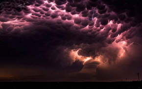 lightning, USA, nature, element, sky