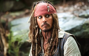 movies, Jack Sparrow, Pirates of the Caribbean, Johnny Depp, dreadlocks
