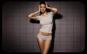 брюнетка, актриса, позирует, голубые глаза, татуировка, Megan Fox