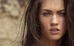 blue eyes, lips, brunette, girls, actress