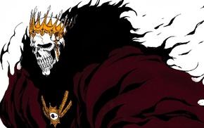 skull, Bleach, anime, crowns, Espada, Barragan Luisenbarn