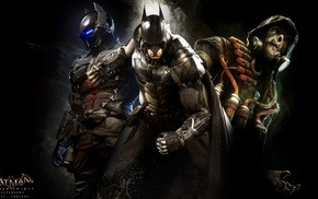 Batman, Scarecrow character, DC Comics, Rocksteady Studios, video games, Batman Arkham Knight