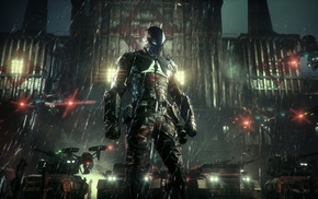 Batman, Gotham City, Batman Arkham Knight, Rocksteady Studios, video games