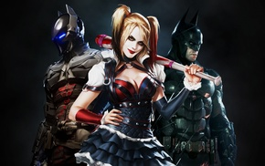 Batman Arkham Knight, Harley Quinn, video games, Batman, Gotham City, Rocksteady Studios