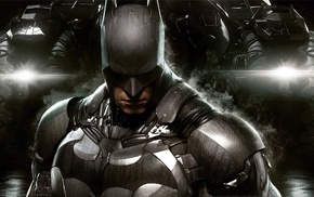 Gotham City, Batman, Batmobile, Batman Arkham Knight, Rocksteady Studios, video games