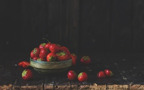 delicious, photo, strawberry, summer, macro